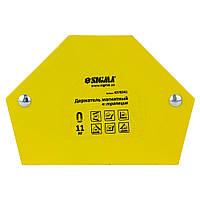 Sigma Магнит для сварки трапеция 11кг 78×32×47×28,5мм (30,45,60,90,75,135°), Арт.: 4270341