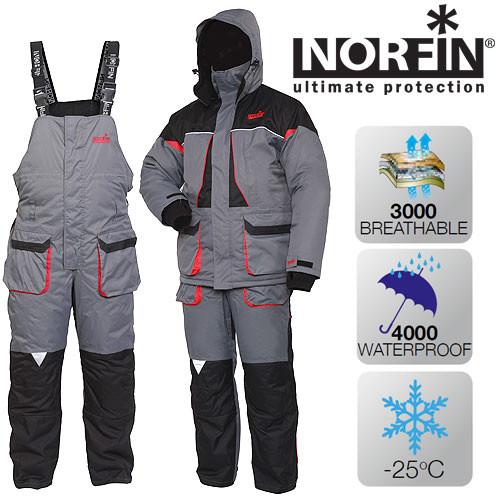 Зимний костюм Norfin ARCTIC RED (-25°) р.XL