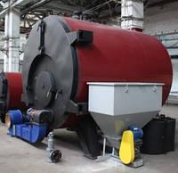 Конструкция промышленного твердотопливного котла