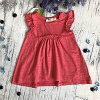 Летнее платье на девочку 131.  Размер 74 см, 80 см, 86 см,  92 см