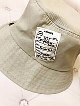 """Хлопковая двухсторонняя панама """"Тommy"""" с нашивками и наклейками (3 цвета), фото 2"""