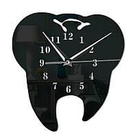 Часы в виде зуба настенные стоматологические