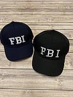 Кепка-бейсболка подростковая «FBI»  р. 54 см