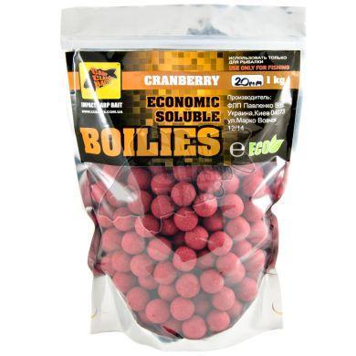 Бойлы CCB пылящие Economic Soluble Cranberry,20мм,1кг CCB001966