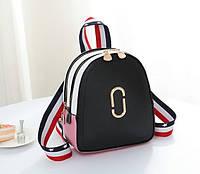 Стильный женский мини рюкзак Черный