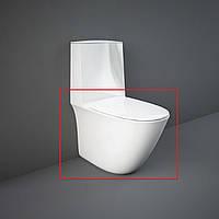 Унитаз напольный безободковый RAK Ceramics Sensation SENWC1146AWHA