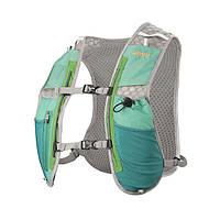 Рюкзак-жилет для бега трейла триатлона RIMIX 1-2L бирюзовый
