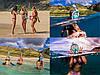 Полнолицевая панорамная маска для плавания RoundTech (S/M) с креплением для камеры, фото 2