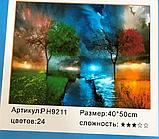 Картина по номерам «Четыре сезона дерево» (40*50 см) , фото 2