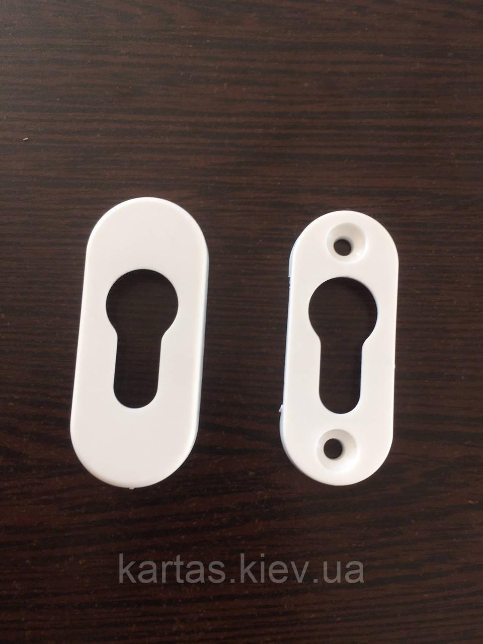 Накладка для замочной сердцевины пластиковая