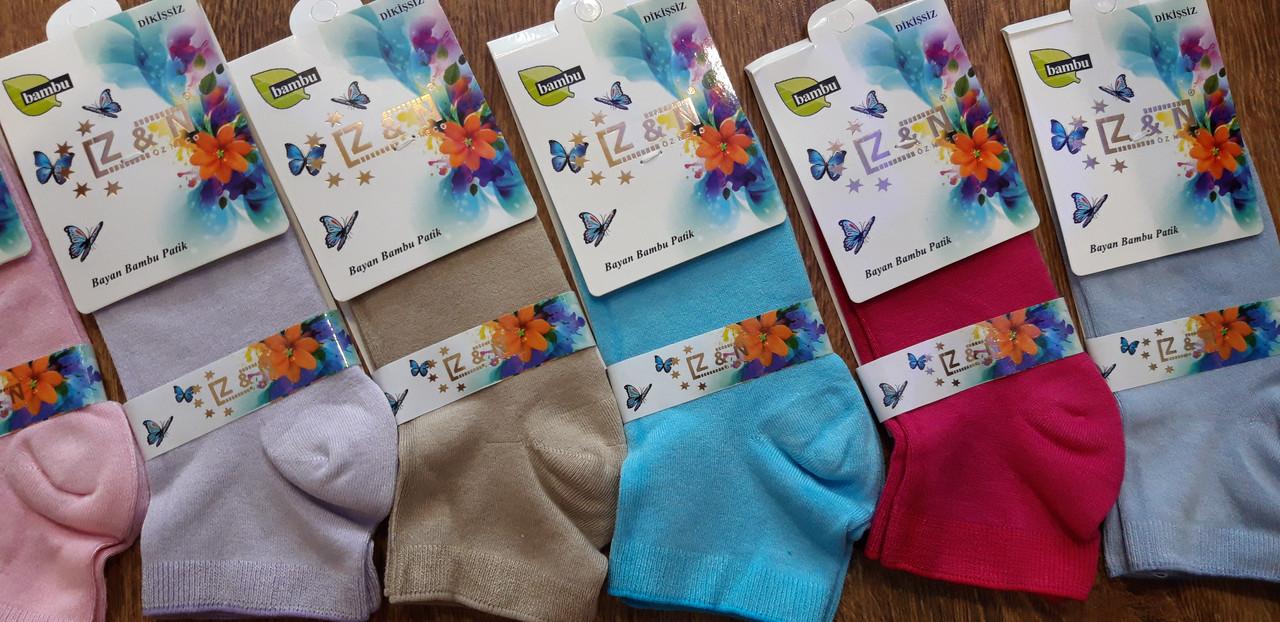 """Жіночі бамбукові шкарпетки """"Z & N"""", Туреччина 36-40"""