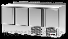 Стол холодильный Polair TMi4GN-G четырехдверный с нижним агрегатом