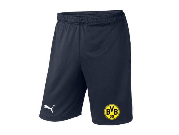 Чоловічі футбольні шорти Боруссії, Borussia, темно-сині
