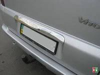 Накладка на планку багажника Mercedes Vito 638 (мерседес вито 638) на лялу, нерж.