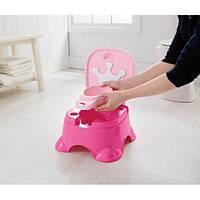 Музыкальный горшок принцесса розовый 3-в-1 Fisher-Price Pink Princess Stepstool Potty