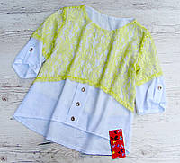 Детская блузка р.146, фото 1
