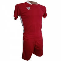 Футбольная форма детская Swift PRIORITET (красно - белая) 152 см