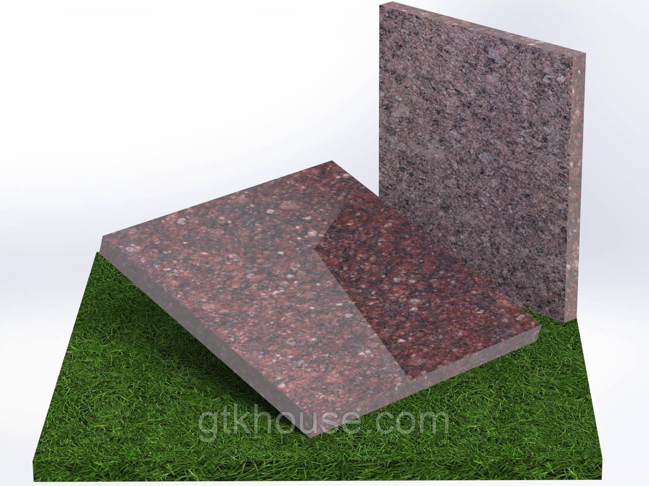 Плитка гранитная Токовская (Размер 300×300)