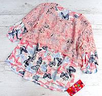 Размеры 128-152 Детская летняя блузка, фото 1