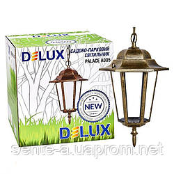 Светильник садово - парковый PALACE A005 E27 60W IP44 черн.- золото  Delux