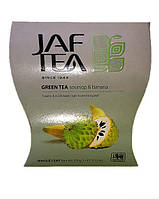 Чай зелёный Jaf Tea Soursop Banana Саусеп-Банан 100г