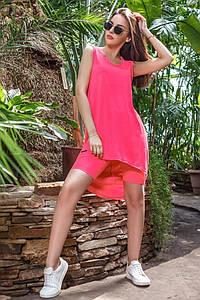 Ультра модный костюм яркого цвета