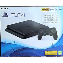 Sony PlayStation 4 Slim 500GB + FIFA 21, фото 3