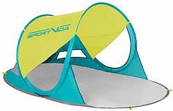 Пляжний тент SportVida 190 x 120 см  Yellow/Green