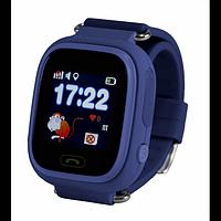 Детские смарт-часы Smart Baby Watch Q90 Dark Blue