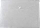 Папка-конверт А5 на кнопці прозора, фото 2