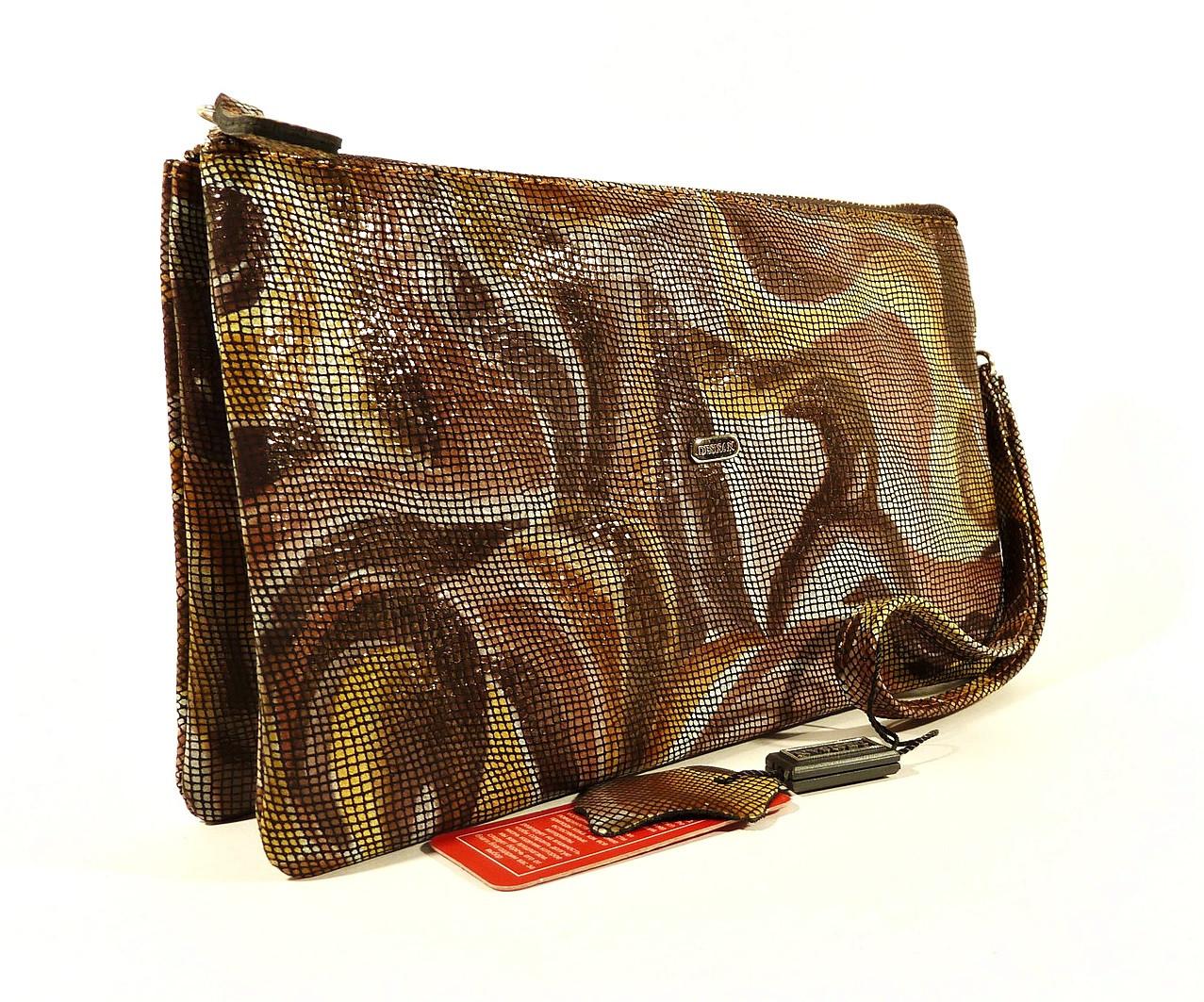 Клатч кожаный женский clutch Desisan 070, Турция