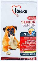 1st Choice Senior Sensitive Skin&Coat Lamb&Fish Супер премиум корм для пожилых или малоактивных собак