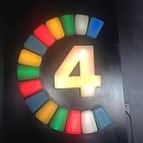Светодиодная тротуарная LED плитка CUB-STONE, RGB, 40 мм, фото 2
