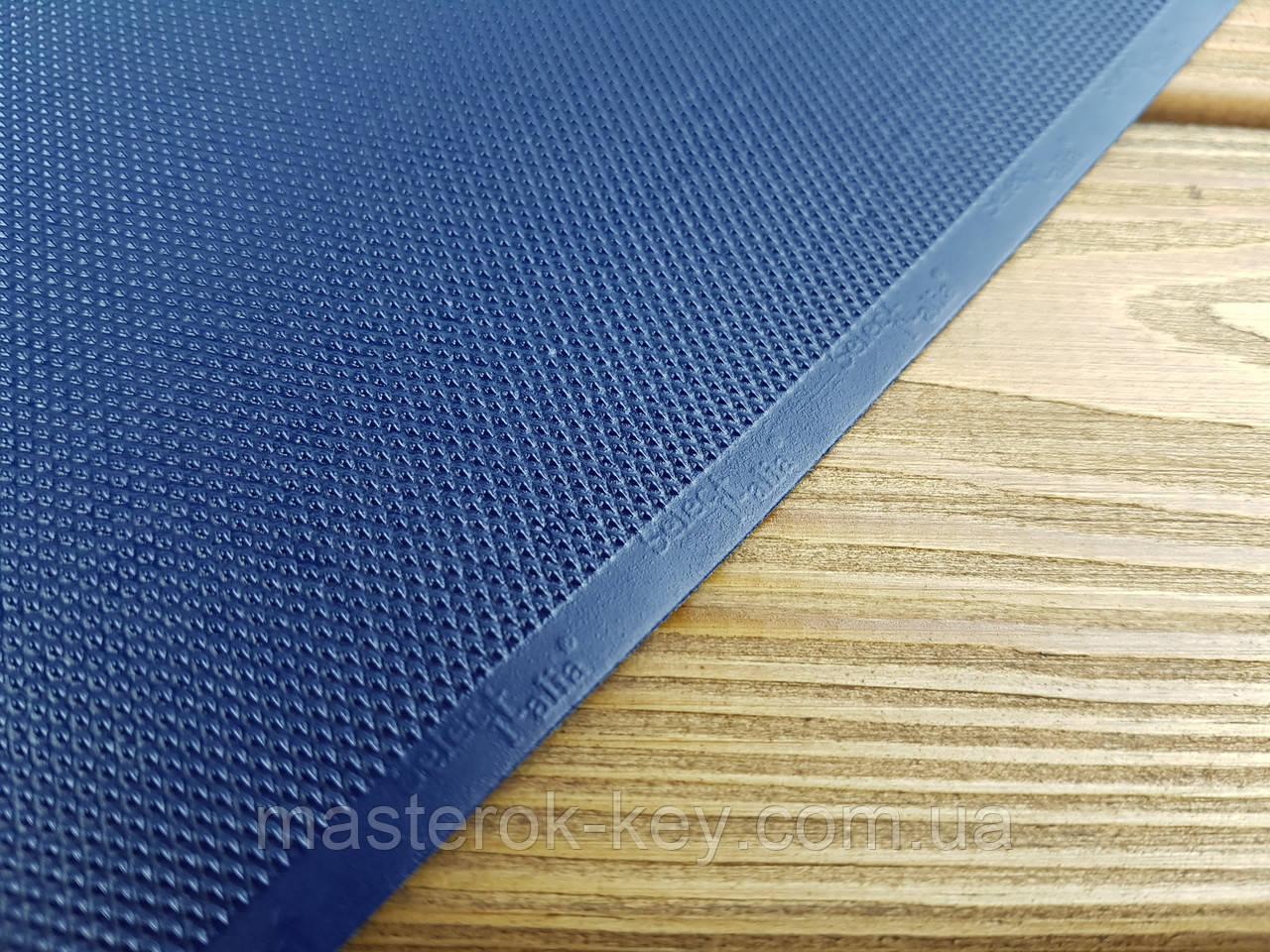 Профілактика поліуретанова SELECT MONO Італія на тканинній основі 500*200*1,2 мм колір темно-синій 4656