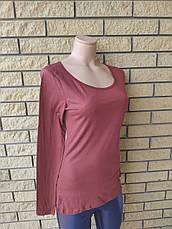 Кофтинка, блуза, футболка жіноча коттоновая тонка AMISU,Туреччина, фото 2