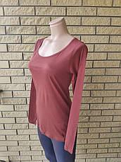 Кофтинка, блуза, футболка жіноча коттоновая тонка AMISU,Туреччина, фото 3