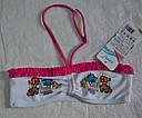 """Раздельный купальник для девочки """"Aquarium"""" розовый (р.122, 128, 140 см) (KEYZI, Польша), фото 3"""