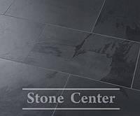 Натуральный камень, Сланец черный  600х300х12мм SP-33