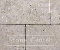 Натуральный камень Травертин окатанный, бежевый 305х610х12мм TO-28