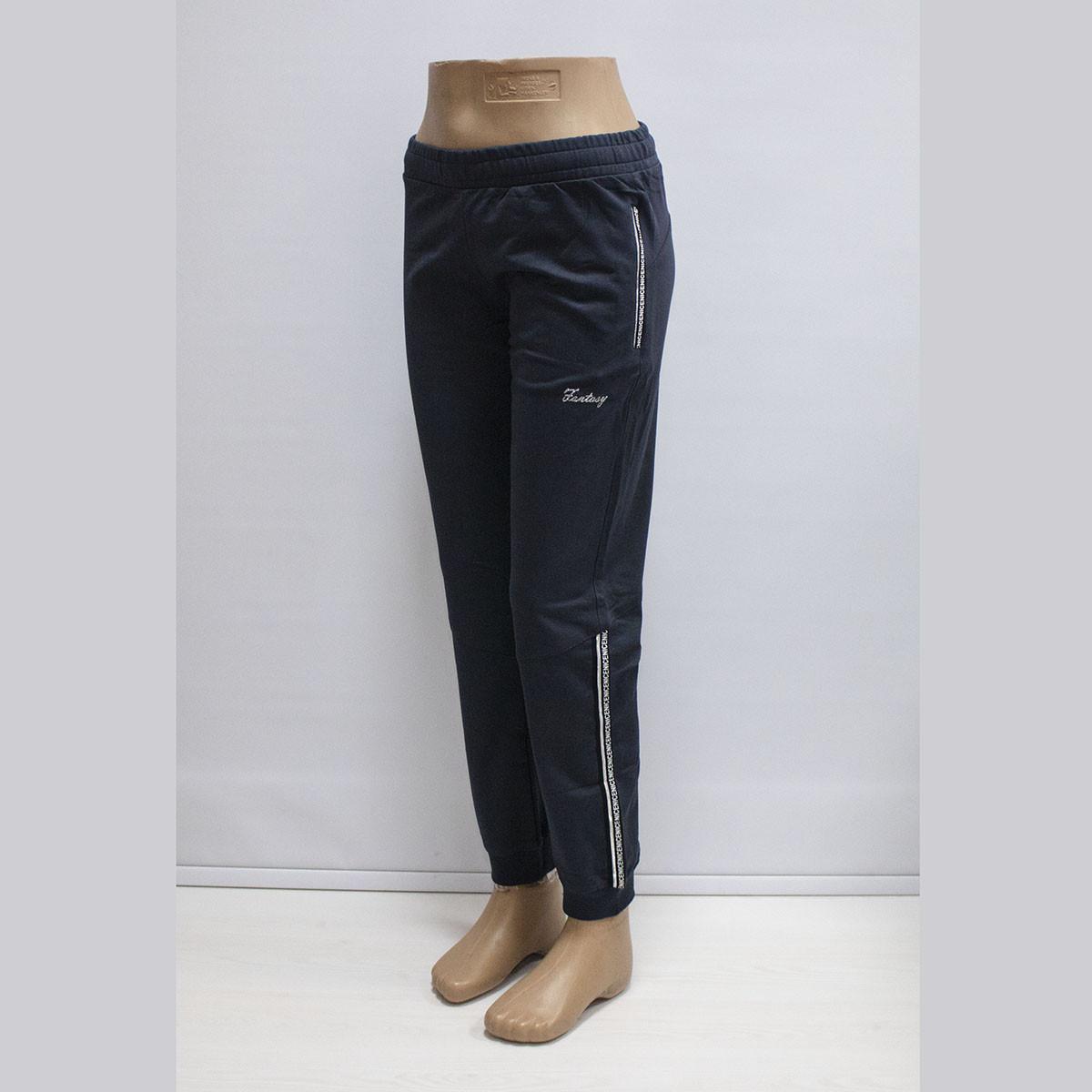 Женские демисезонные спортивные штаны трикотаж фабрика Турция 19414