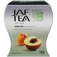 Чай зелёный JAF TEA Peach & Apricot  Персик-Абрикос 100 г