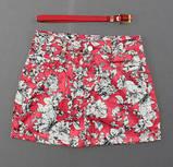 Модная короткая юбка для девочек  5-10 лет,  Венгрия Nice Wear 1539, фото 4