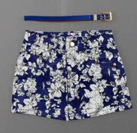 Модная короткая юбка для девочек  5-10 лет,  Венгрия Nice Wear 1539 6 лет синий