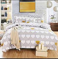 Комплект постельного белья евро ранфорс на резинке 100% хлопок. (арт.12080)