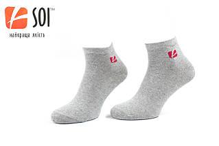 Шкарпетки SOI Спорт р.25 сірий