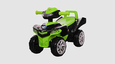Каталка-толокар BAMBI - детский квадроцикл. Черно-зеленого цвета.