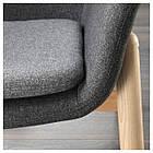 IKEA VEDBO Кресло, темно-серый цвет  (803.411.75), фото 3