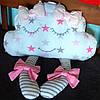 Подушка детская декоративная в кроватку