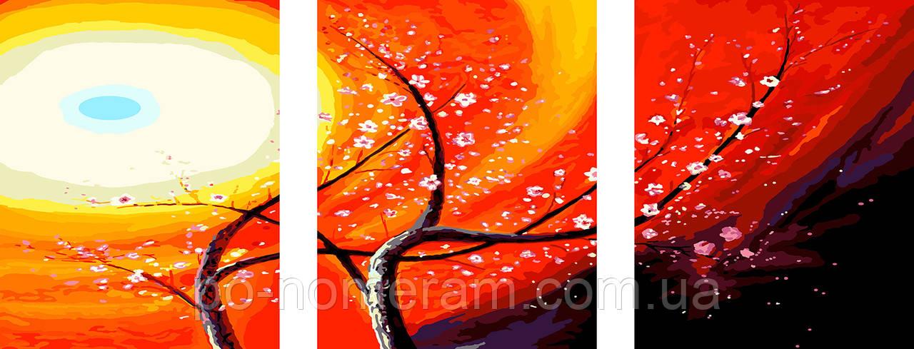 Картина по номерам Волшебное дерево (PX5131) 50 х 120 см (Без коробки)