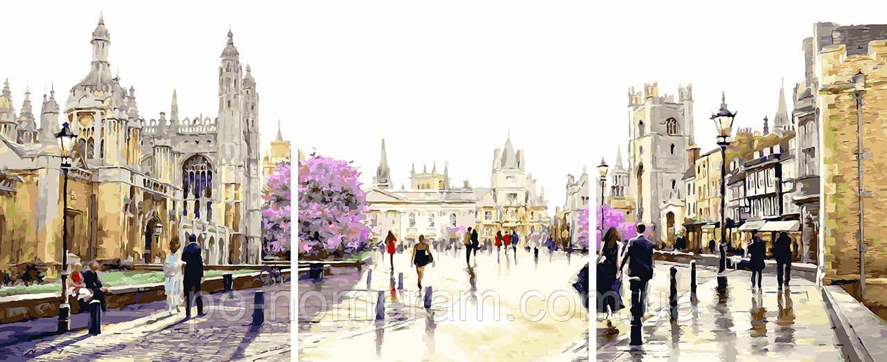 Картина за номерами Весняний лондон (PX5269) 50 х 120 см